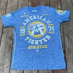 Men's American Fighter T-shirt. Size XL